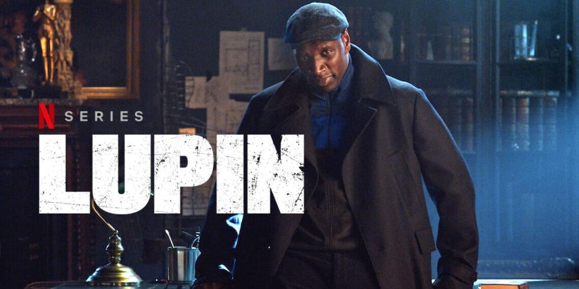 Omar Sy sul set di Lupin
