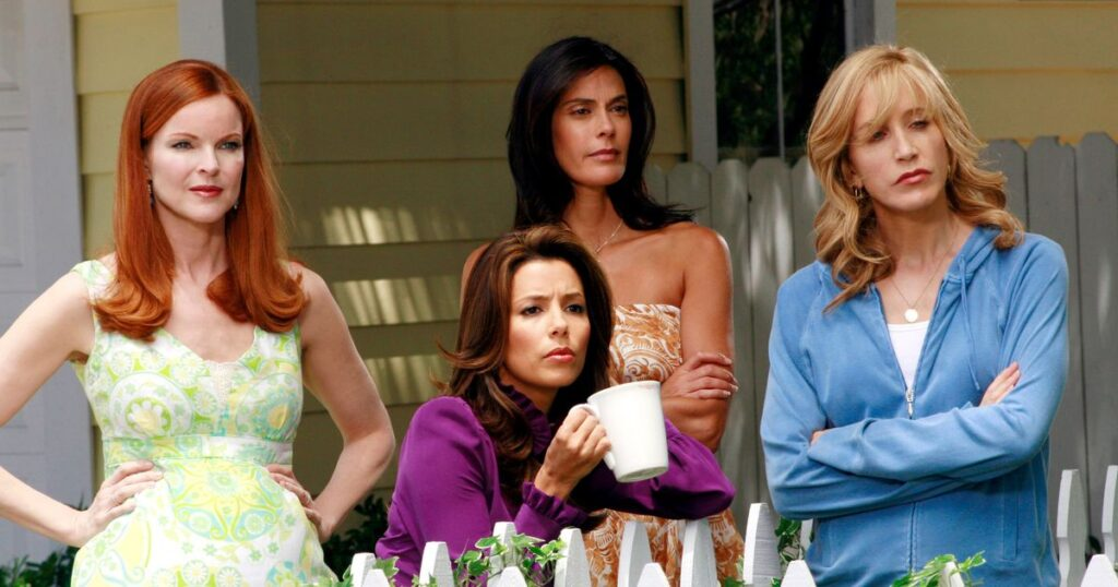 Il cast di Desperate Housewives: Bree, Gabi, Susan e Lynette