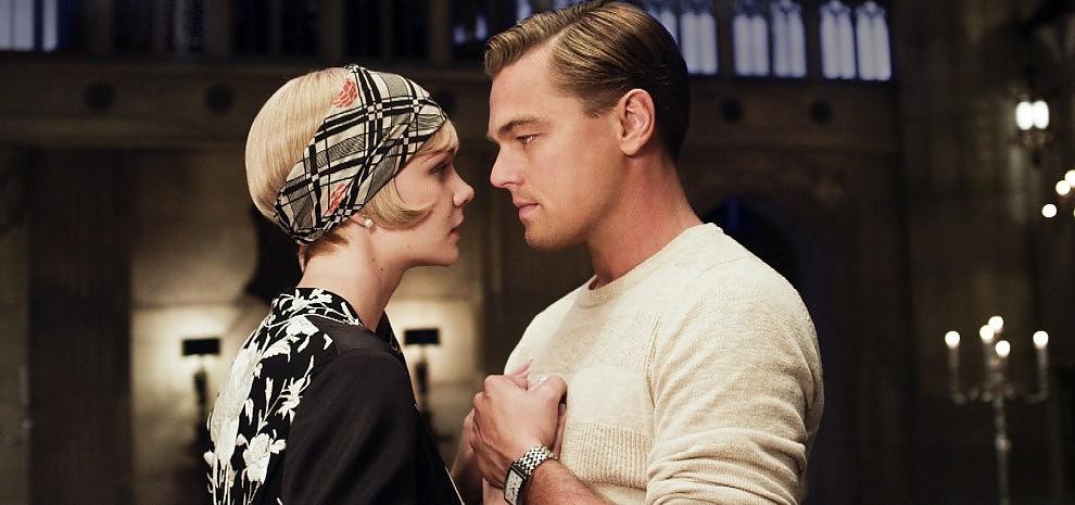 Leonardo Di Caprio e Carey Mulligan in Il Grande Gatsby
