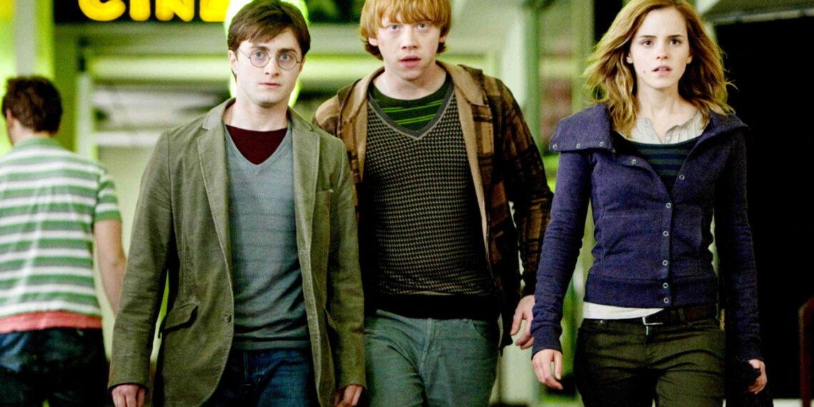 Daniel Radcliffe e Emma Watson in Harry Potter