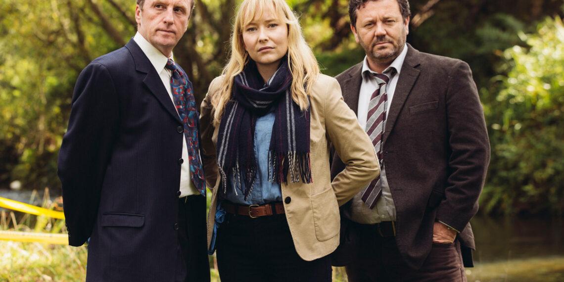 Il cast de I Misteri di Brokenwood