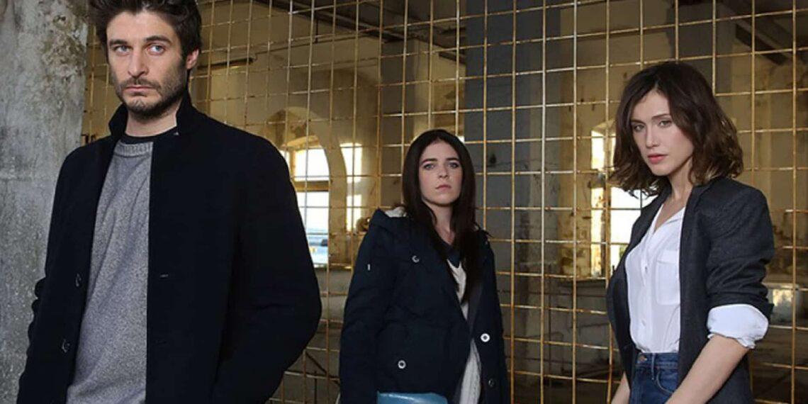 Lino Guanciale e Gabriella Pession in La Porta Rossa
