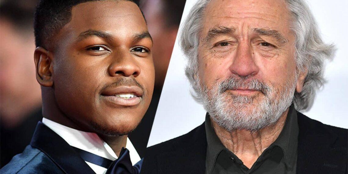 Gli attori Robert De Niro e John Boyega