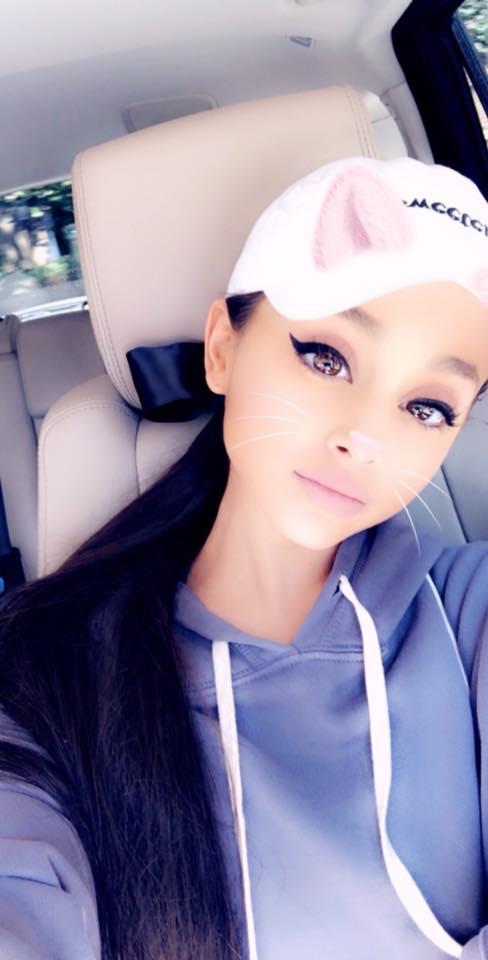 Ariana Grande test drive