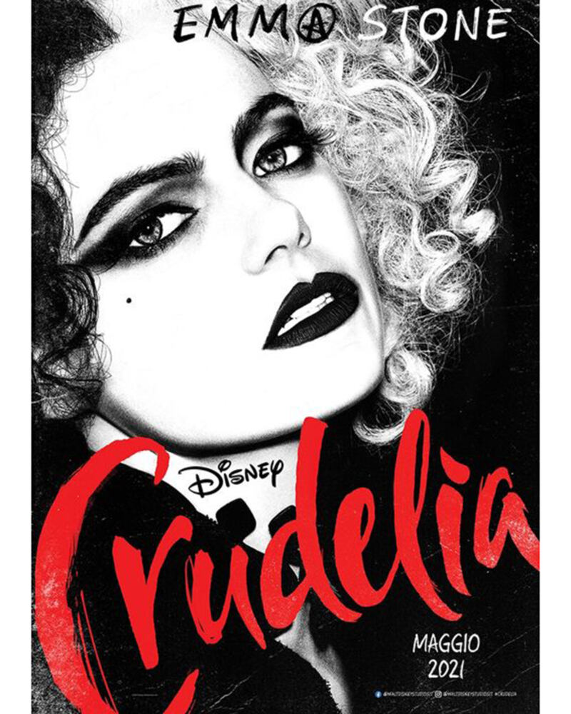 Crudelia Emma Stone poster