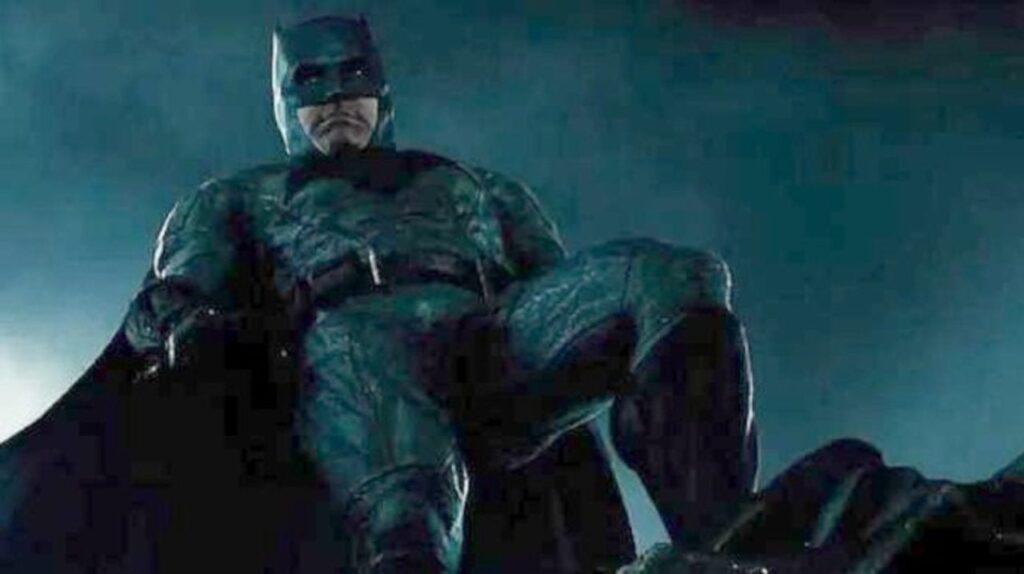 Batman in una scena di Justice League