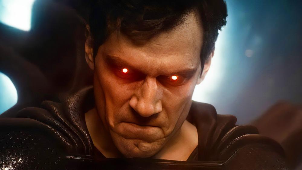 Un'immagine di Superman dal trailer di Justice League di Snyder