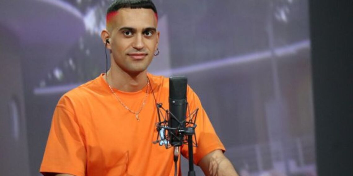 Il cantante Mahmood