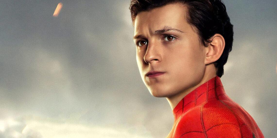 Tom Holland in Spiderman