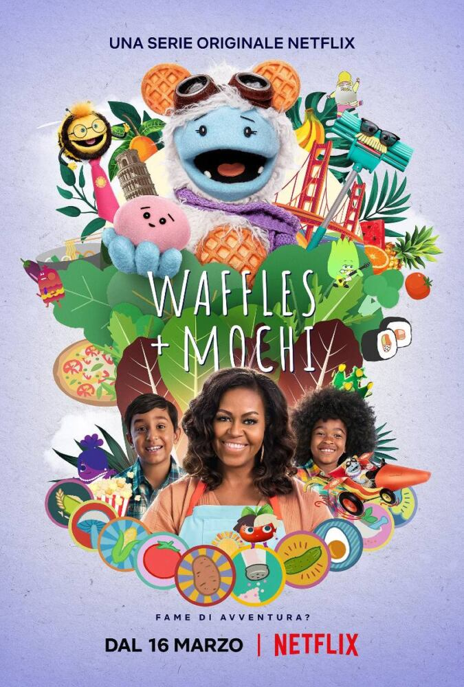 Michelle Obama Waffles + Mochi