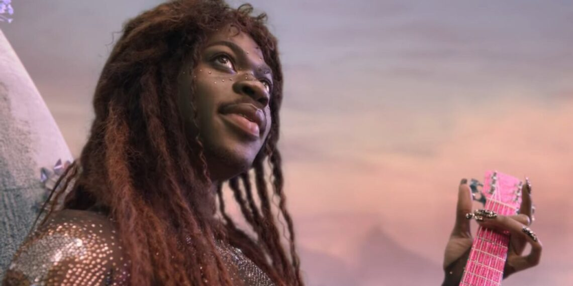 Lil Nas X nel video di MONTERO (Call Me By Your Name)