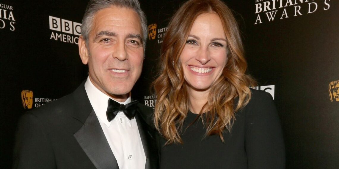 Julia Roberts George Clooney evento
