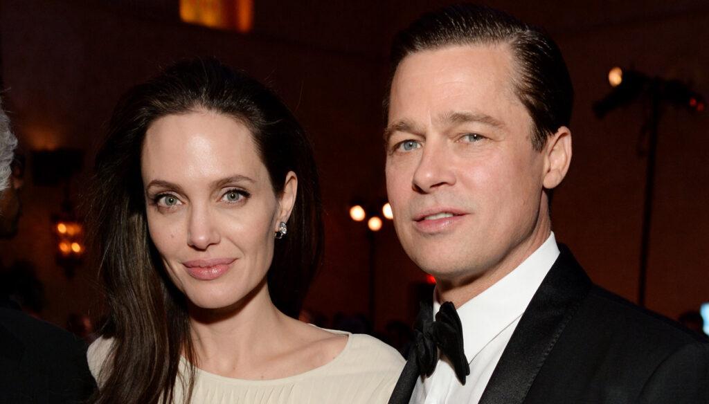 Brad Pitt e Angelina Jolie in una delle utlime foto insieme