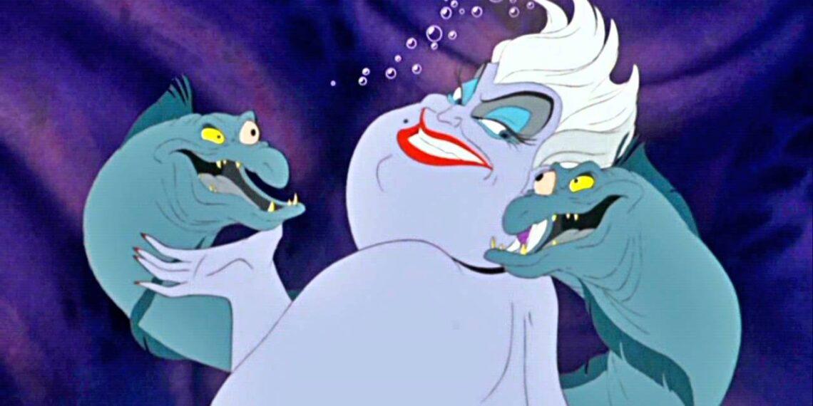 Ursula La Sirenetta Disney