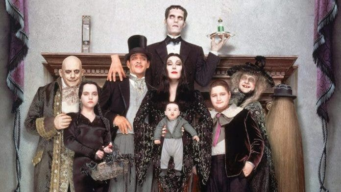 Famiglia Addams Tim Burton