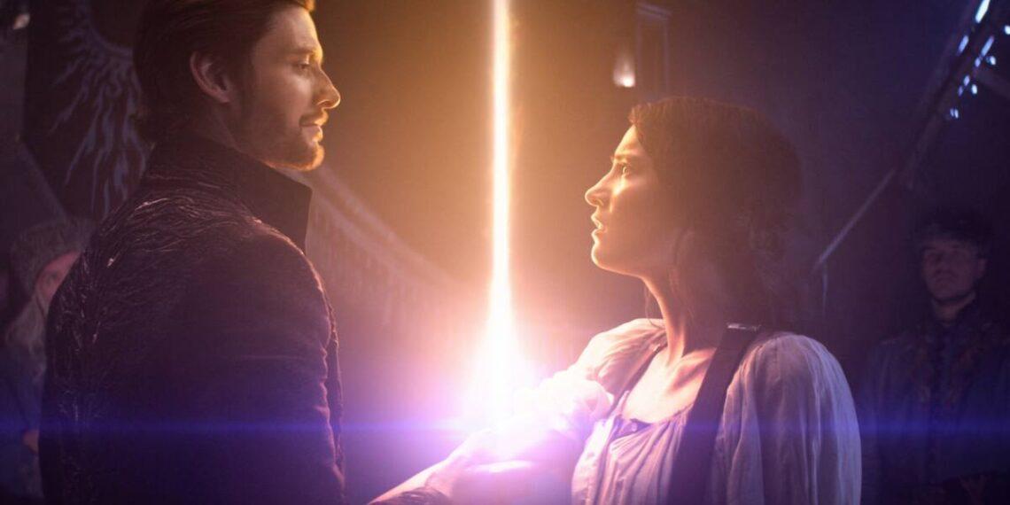 Ben Barnes e Jessie Mei Li in Tenebre e Ossa