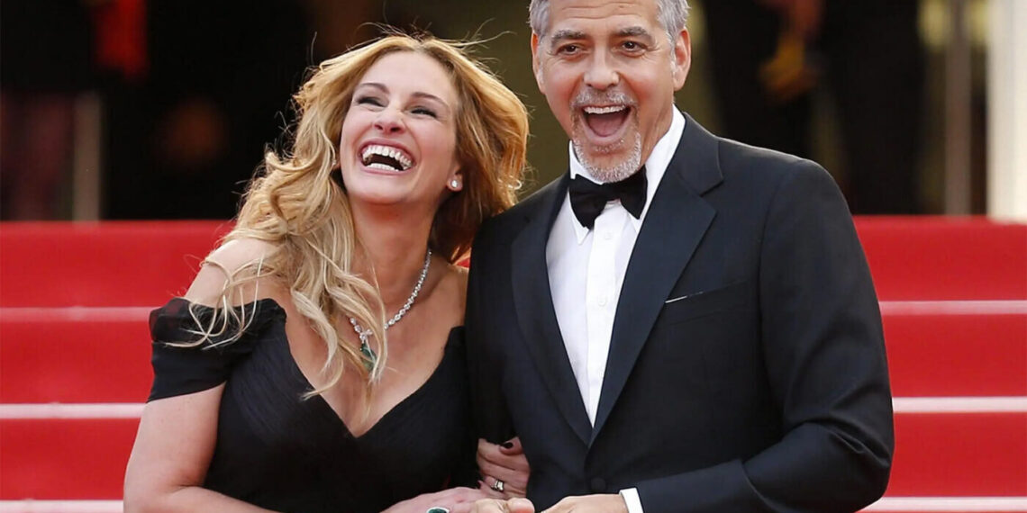 Julia Roberts e George Clooney sul Red Carpet di Cannes