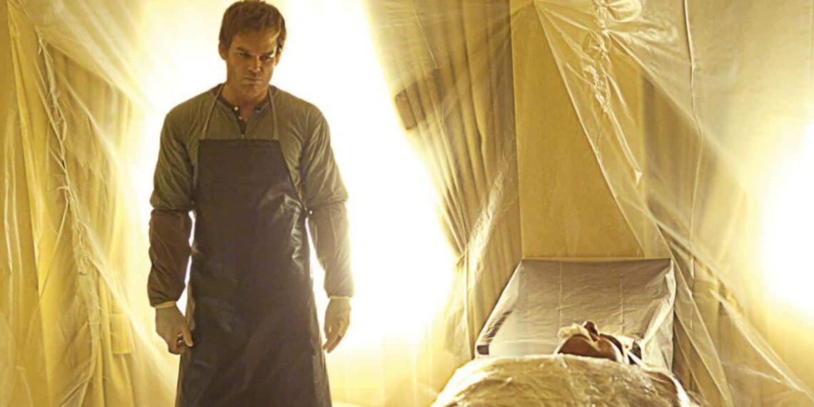 Michael C. Hall nella serie Dexter