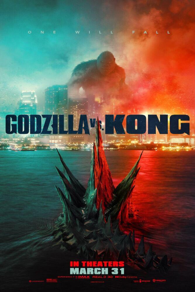locandina di Godzilla Vs. Kong