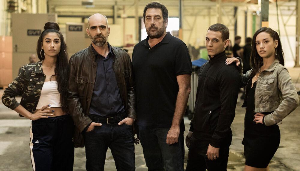 Il cast di Hasta El Cielo di Netflix