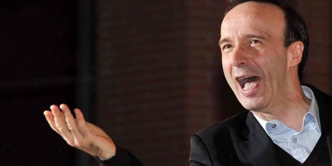 Il regista e attore comico Roberto Benigni