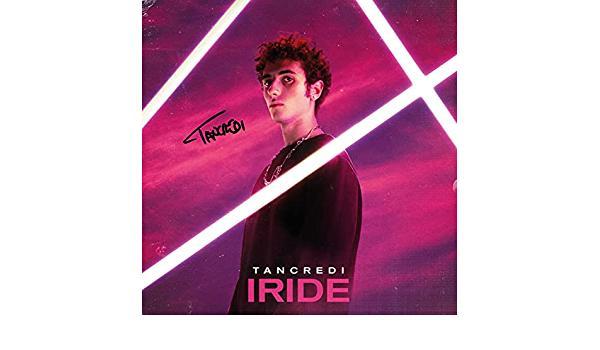 copertina di IRIDE, nuovo EP di Tancredi