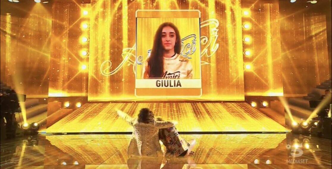 Giulia vincitrice di Amici 20