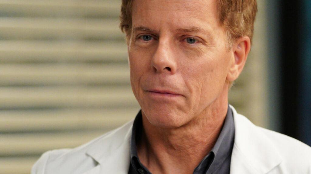 L'attore Greg Germann in Grey's Anatomy