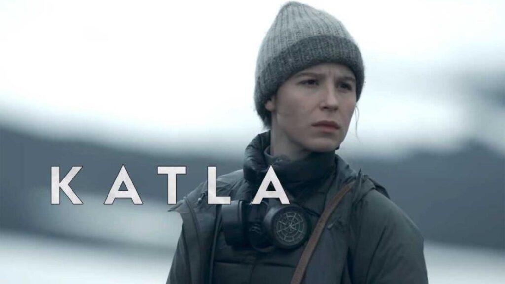 Guðrún Eyfjörð nella serie Katla