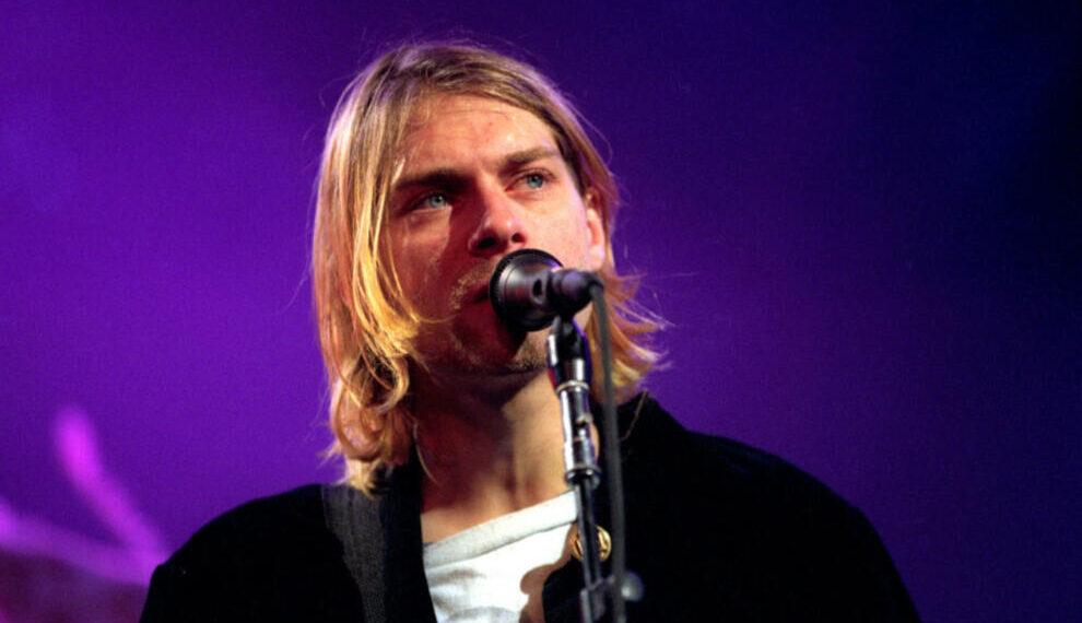 Kurt Cobain in live nel dicembre del 1993