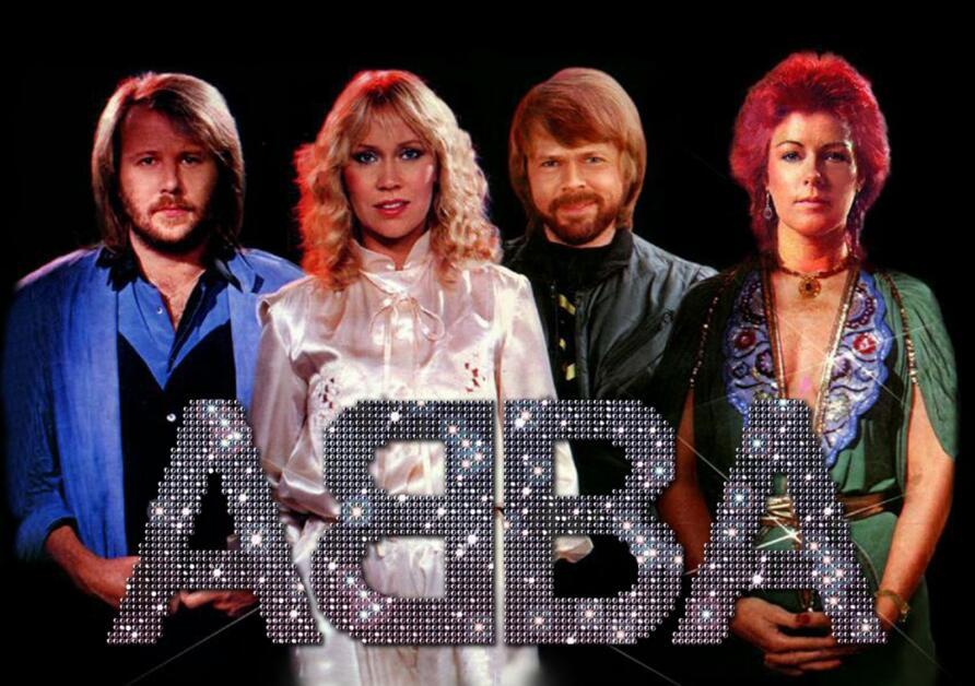 Gli ABBA nel 1970.