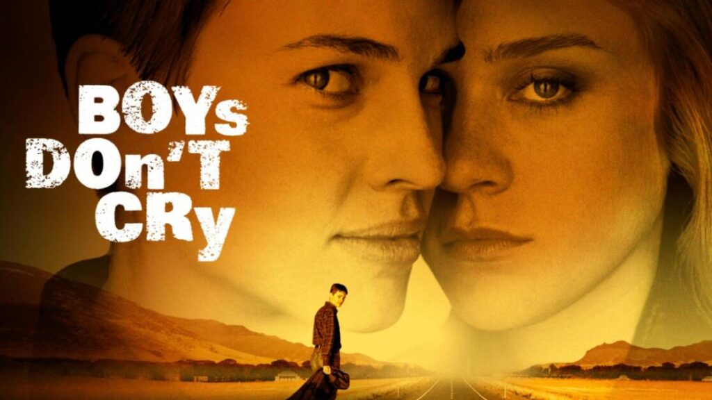 Manifesto del film Boys don't cry