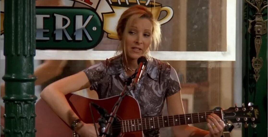 Lisa Kudrow in Friends è Phoebe Buffay