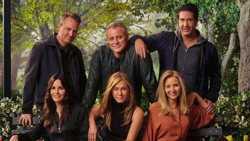 Il cast di Friends pronto per la reunion