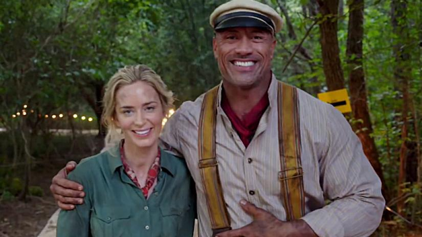 Jungle Cruise Dwayne Johnson ed Emily Blunt