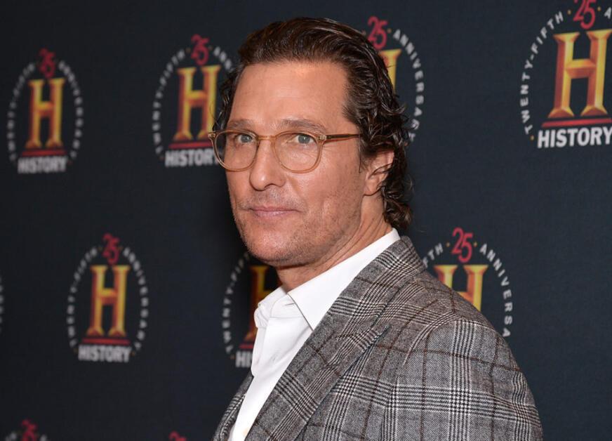 "L'attore Matthew McConaughey all'evento ""Historytalks"""