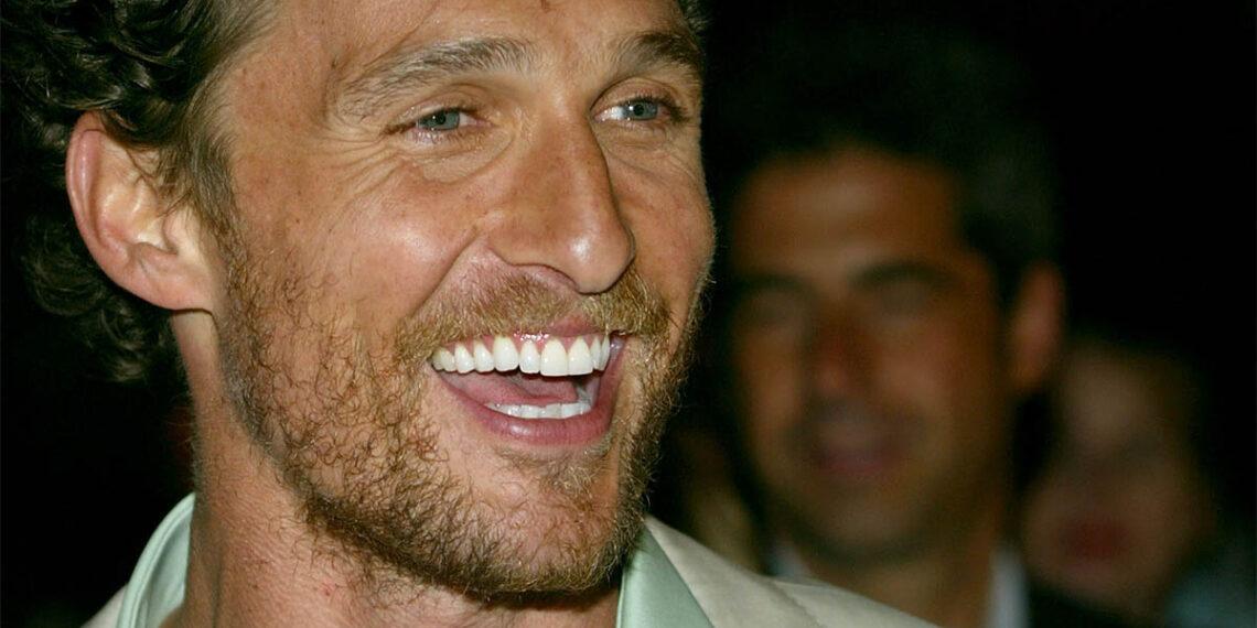Matthew McConaughey, attore statunitense