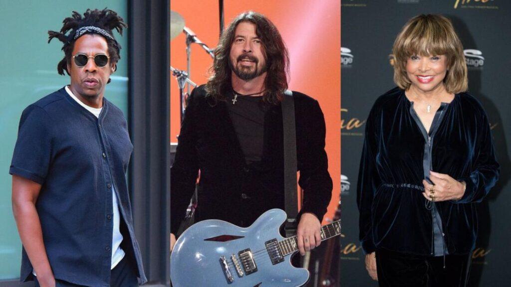 JAY-Z, Foo Fighters e Tina Turner, artisti che entrano nella Rock Hall of Fame 2021