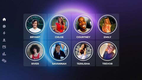 Immagine del social network The Circle, usato nella serie tv