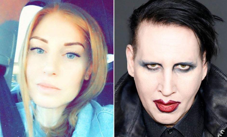 Ashley Morgan Smithline e Marilyn Manson