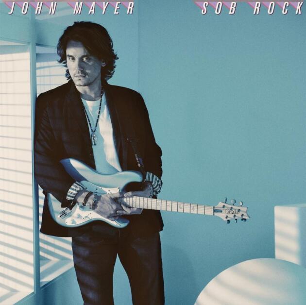 John Mayer Sob Rock poster