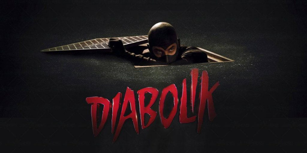 La locandina del film Diabolik dei Manetti Bros