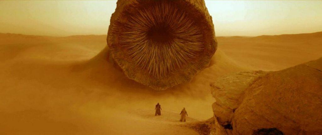 Un'immagine tratta dal film Dune