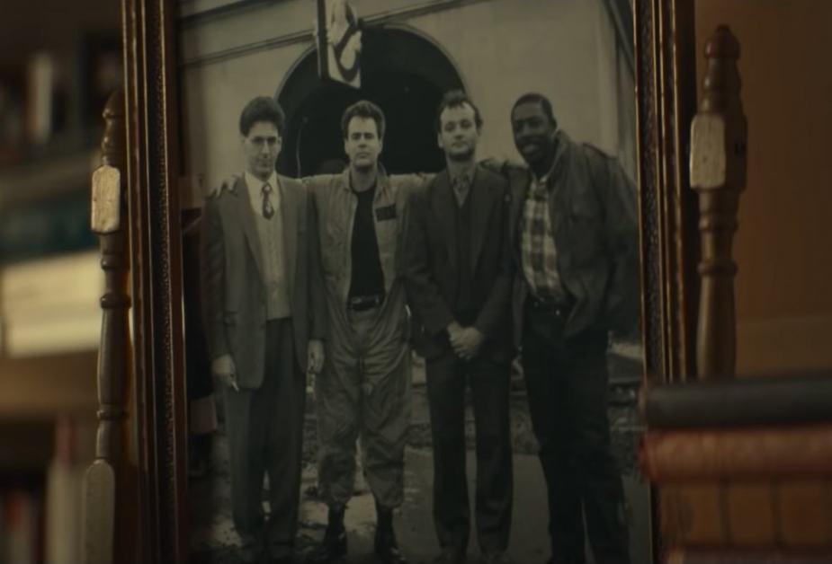 Gli attori del primo Ghostbusters nel film del 2021