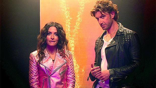 Adam Demos e Sarah Shahi
