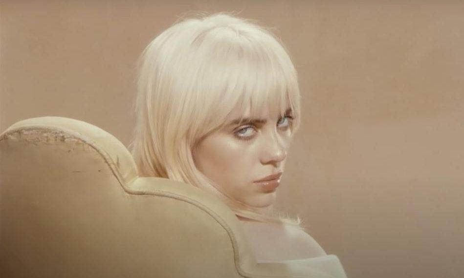 Billie Eilish nelle immagini di lancio di Happier Then Ever