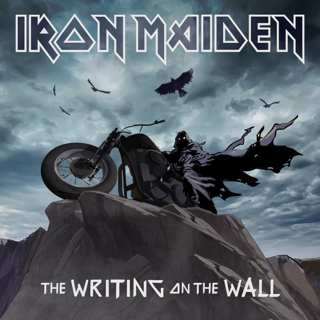 cover di The Writing on the Wall degli Iron Maiden
