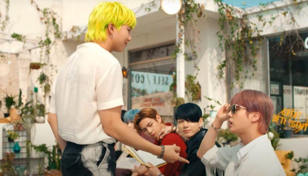 Permission To Dance BTS Video Foto
