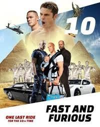 Fast and Furious 10 locandina