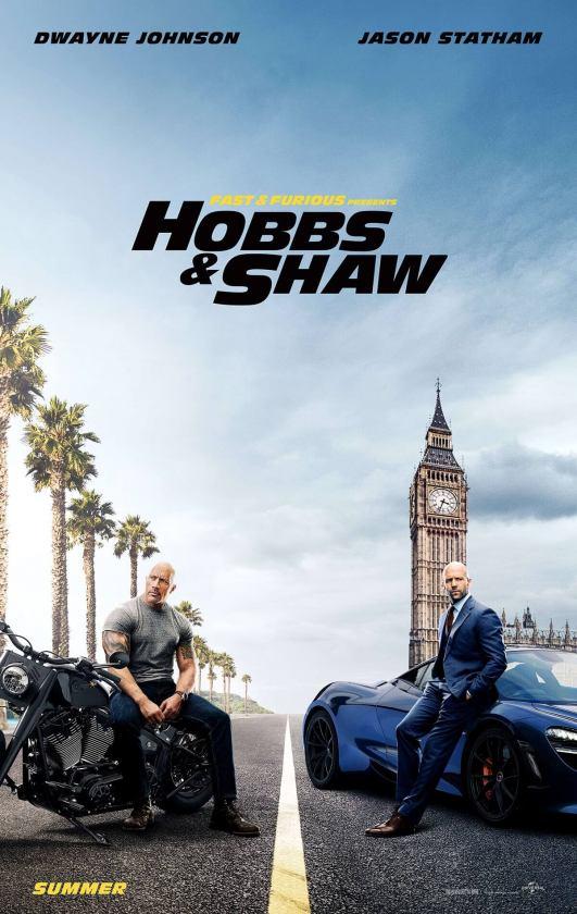 Hobbs & Shaw 2 locandina